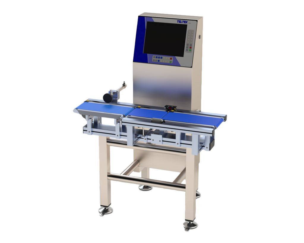 Teltek C60 dynamic product control checkweigher
