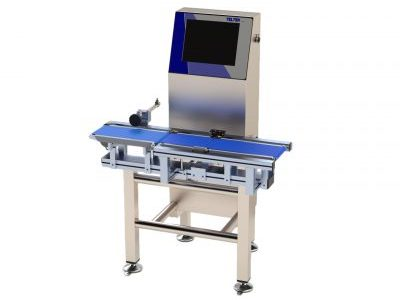 Teltek C80 dynamic product control checkweigher