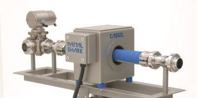 Metal detectors for liquids and mess in the food industry.